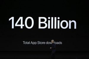 140billion-apple-وبلاگ راسخون بلاگ rasekhoon rasekhonblog  در کنفرانس ۷ سپتامبر اپل چه گذشت؟ از قیمت آیفون ۷ گرفته تا آمار و ارقام جالب اپلی