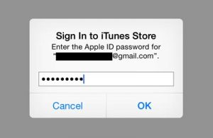 enter-your-password-for-apple-id- اپل آیدی دریچه ای برای دسترسی به تمامی اطلاعاتتان