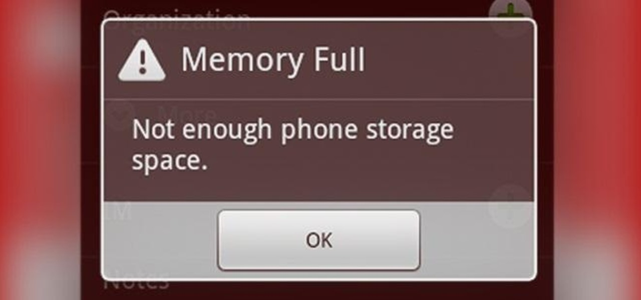 چرا حافظه گوشی پر نشان میدهد