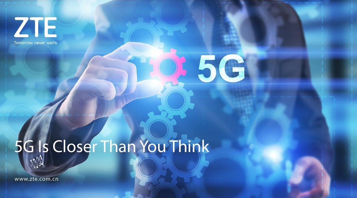 اولین گوشی دنیا با قابلیت ۵G از طرف شرکت ZTE معرفی شد