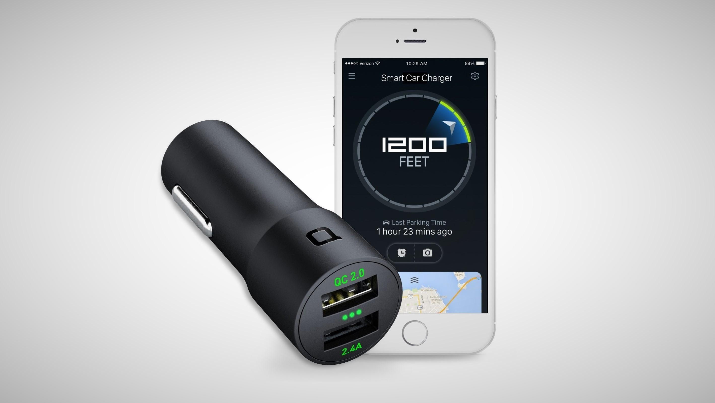 این شارژر هوشمند شما را در یافتن ماشینتان هم کمک می کند