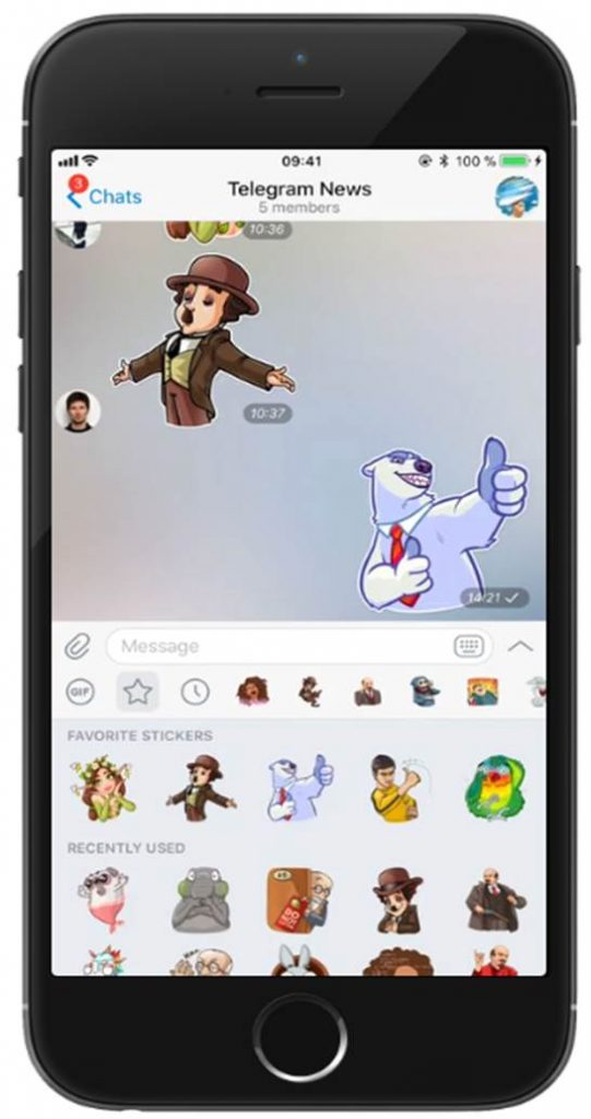 تلگرام 4.3 دیجی دکی