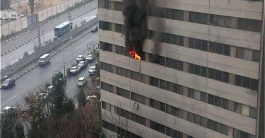 آتش سوزی موبایلی دیجی دکی