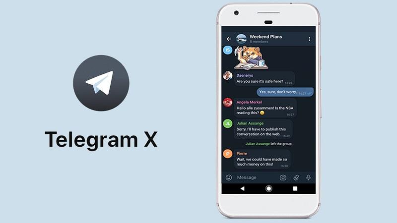 تلگرام ایکس اِلـبان
