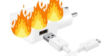داغ شدن شارژر گوشی ، دیجی دکی