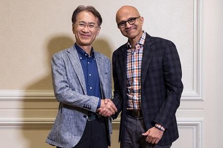 اتحاد مایکروسافت و سونی ، اِلـبان