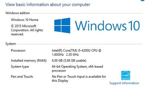 سیستم مناسب ویندوز 10 ، البان