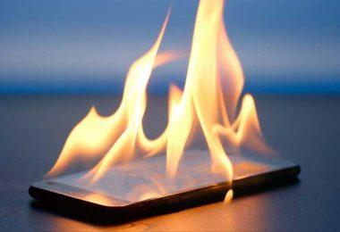 داغ شدن گوشی | تعمیرات موبایل