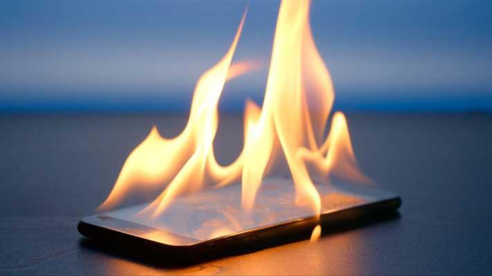 داغ شدن گوشی   تعمیرات موبایل